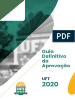GUIA DA APROVAÇÃO UFT 2020 (1)