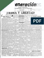 Regeneración 1911