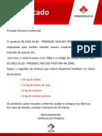 Comunicado_VAREJO_Núcleo Presence