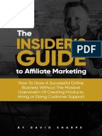 The Insiders Guide to Affiliate Marketing - David Sharpe