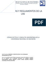 Normativas y Reglamentos de la UNI