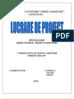 Proiect Clasa a 12 B
