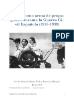El Cine Como Arma de Propaganda Durante La Guerra Civil Española (1936-1939)