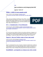 Arquivo da categoria 'web 2.0'