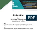 Installation & Guide