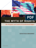 Ashutosh Bhagwat - The Myth of Rights_ The Purposes and Limits of Constitutional Rights-Oxford University Press (2010)
