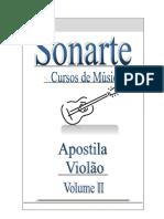 REVISÃO capa apostila de violão vol 2