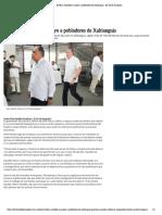 18-11-2019 Ratifica Astudillo Su Apoyo a Pobladores de Xaltianguis.