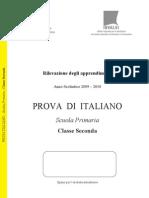 Italiano SNV0910 Classe II Primaria
