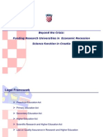 "Niko Raic, Director, Ministry of Finance, Republic of Croatia, ""Science Function in Croatia"""