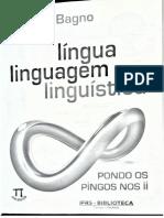 Língua, Linguagem, Linguística - Marcos Bagno