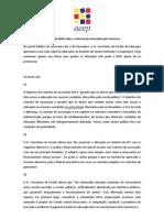 Posição da AEEP sobre artigo SEE