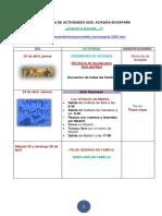 programa actividades acogida 2020