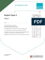ENGLISH PROGRESSION TEST PAPER 2.pdf