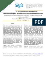 Parker, C., & Pérez Valdivia, J. M. (2019). Asimetría en el conocimiento sociotécnico Marco teórico para estudiar conflictos medioambientales. Revista de Sociología, 34(1), 4-20. doi 10.53540719-529X.