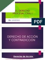 CLASE 3 DERECHO DE ACCIÓN Y CONTRADICCIÒN