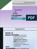 USP D1 Negotiation