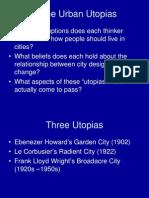 9 3urban Utopia
