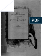 How to make profits trading in puts and calls, by W. D. Gann