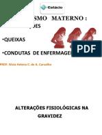 08 - ALTERAÇÕES FISIOLÓGICAS NA GRAVIDEZ