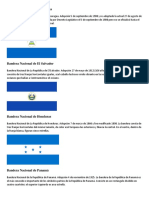 Bandera Nacional de Nicaragua