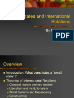 Small States and International Relations Updated Dec 2010