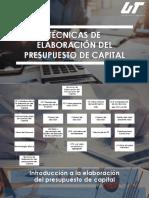 TÉCNICAS DE ELABORACIÓN DEL PRESUPUESTO DE CAPITAL
