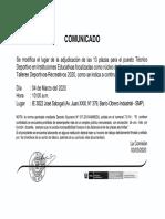 comunicado_plazas_tecnico_deportivo