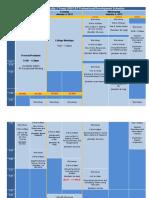 J-Term Workshop Calendar
