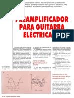 preamplificador guitarra eletrica