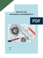English for Mechanical Engineering II
