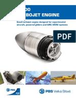 Turbojet engine TJ100