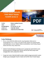 Proses Kerja Hidrolik Pada Mast Toyota Forklift Series 8 (1)