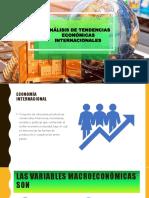 ANÁLISIS DE TENDENCIAS ECONÓMICAS INTERNACIONALES.