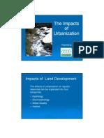 01 Effects Urbanization
