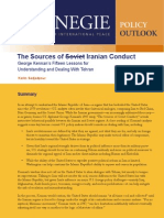 The Sources of Soviet/Iranian Conduct