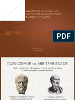 Sintaxe Do Português I Estudo Gramatical Funcionalista Na Literatura de Lygia Fagundes Telles Seminário Dos Ratos