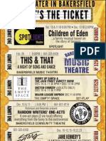 Live Theater in Bakersfield - That's the Ticket