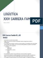 Logística Carrera Familiar- 2020