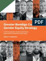 Draft Greater Bendigo Coalition Gender Equity Strategy