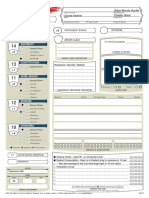 D&D 5E - Fillable Character Sheet