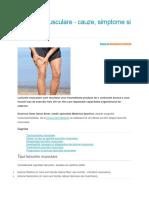 leziuni musculare