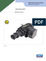 143 EEX gerotor pump unit