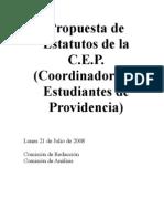 Propuesta de Estatutos de la CEP