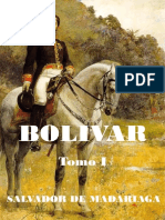 Salvador de Maradiaga, Bolivar, Tomo I