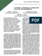 MRI Strategic Eclecticism