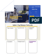 landing page distance education
