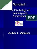 Mindset Presentation for Teaching Children