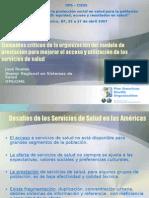 Elementos Criticos Org Modelo Prestacion Mejorar Acceso Utiliz Serv Salud-OPS-Jose Ruales