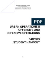 B4R5379 Urban Ops II Offense and Defense Operations
